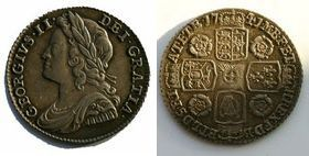 Silver Sixpence of George II></a>     </div> </td> </tr> <tr style=