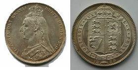 British Silver Coins of Victoria