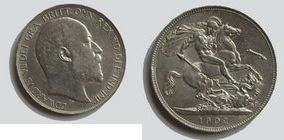 Silver Crown of Edward VII