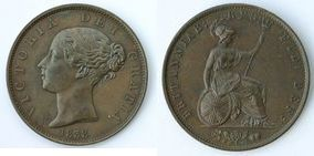 Base Halfpenny of Victoria></a>     </div> </td> </tr> <tr style=