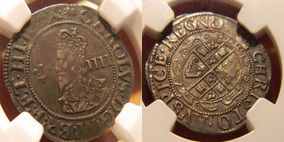 Silver Groat of Charles I></a>     </div> </td> </tr> <div class='spacer'> <tr><td colspan=