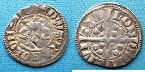Silver Penny of Edward II