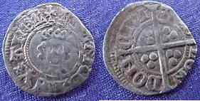 Silver Halfpenny of Richard II