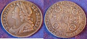 Silver Sixpence of George II></a>     </div> </td> </tr> <div class='spacer'> <tr><td colspan=