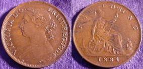 Base Farthing of Victoria></a>     </div> </td> </tr> <tr style=